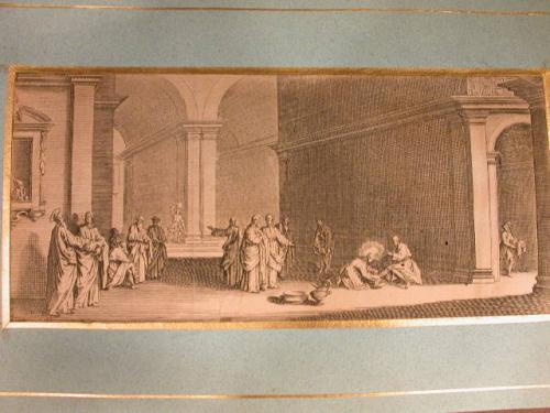 JACQUES CALLOT (1592 - 1635) ORIGINAL ETCHING