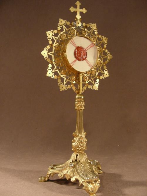 Altar reliquary Bx F. Clet.Martyr of Chine
