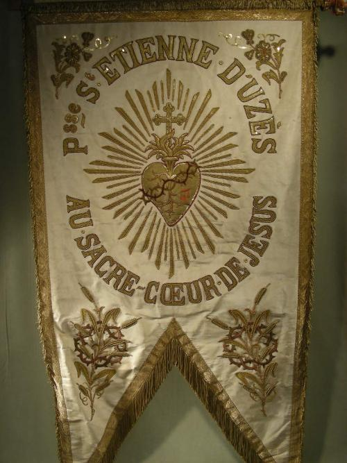 Enormous processional banner Gold Threads