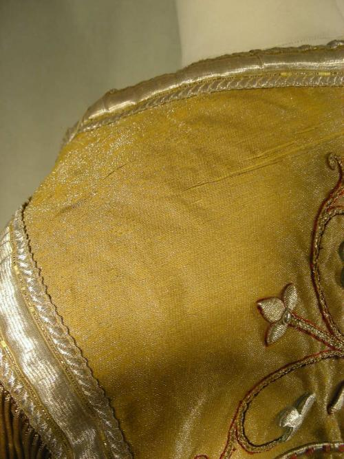 Antique Cope Embroidered Metalics Gold