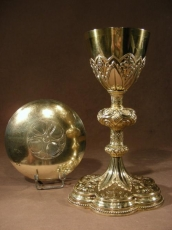 DESMARQUET Freres. Chalice Silver Sterling.