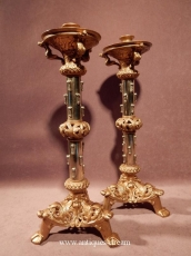 Candlesticks bronze